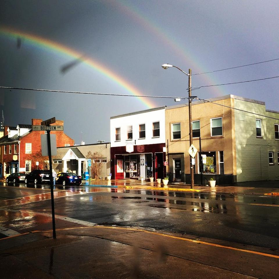 Town of Orange.Rainbow
